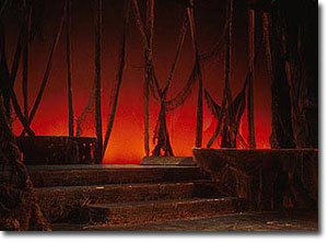 Jim Thurston: Design for the Stage. Into the Woods-Set and